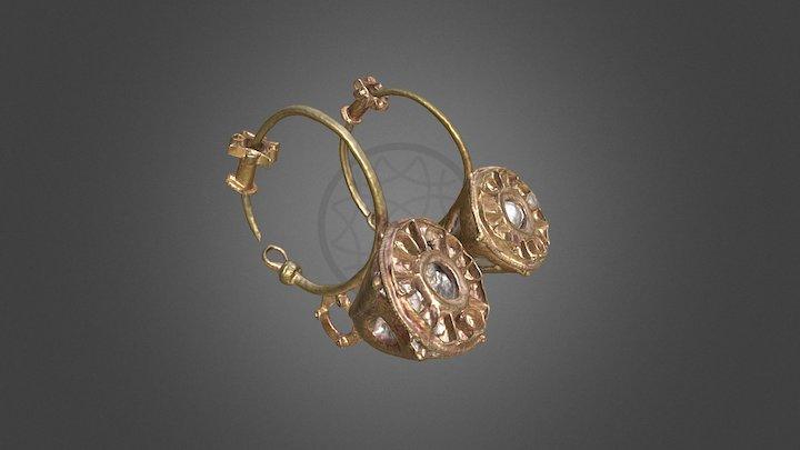 Earrings from - / Pendientes de - Cerro Salido 3D Model