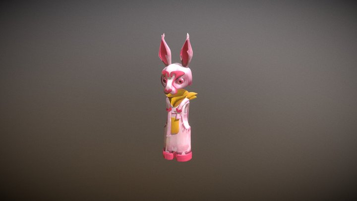 Bunny | Fear 3D Model