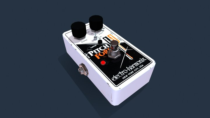 FX-pedal 3D Model