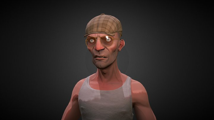 Сriminal 3D Model