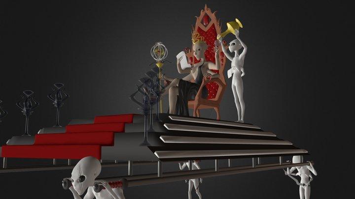 Queen Of Mars 3D Model