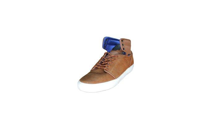 Vans Sneakers Shoe 3D Model