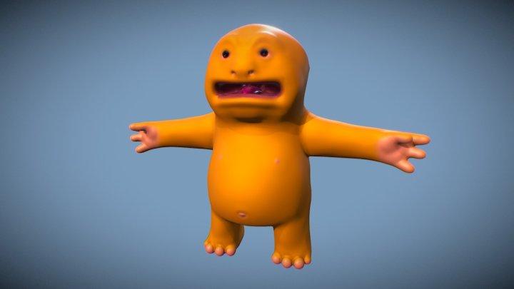 """Blobby"" Preview (Work in Progress) 3D Model"