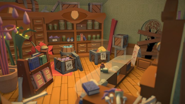 The Seeing Eye (Interior Concept) 3D Model