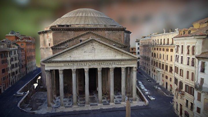Agrippa Pantheon 3D Model