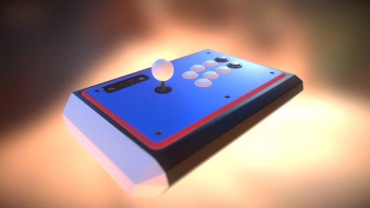 Arcadestick 3D Model