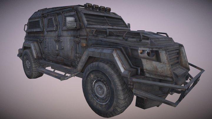 BoneCrusher 3D Model