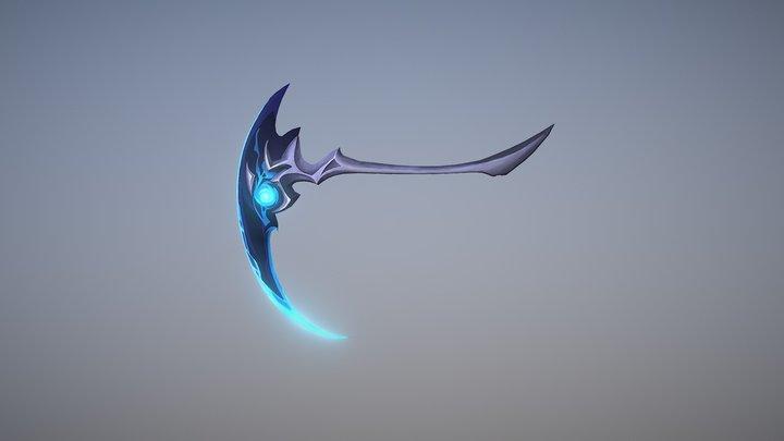 Kayn Weapon 3D Model