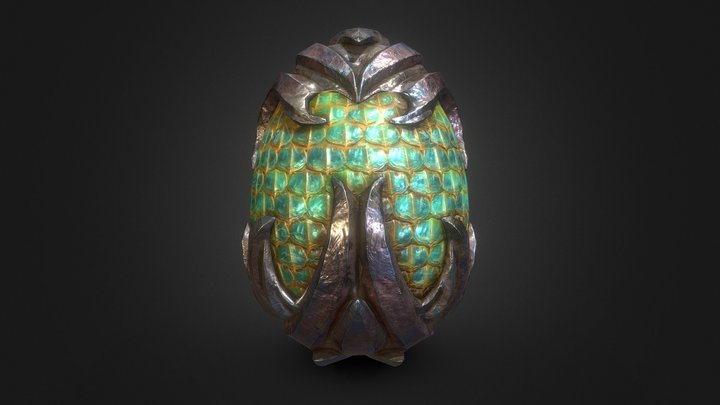 Dragon Egg - 05 3D Model