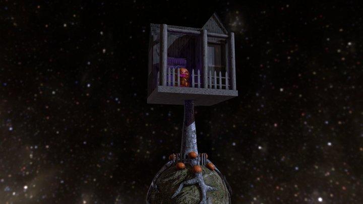 Halloween planet 3D Model