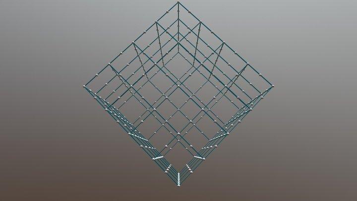 290 384 1 Meter Base Box 3D Model