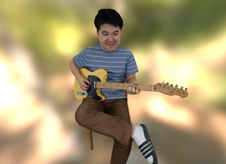 Wooram with telecaster 3D Model