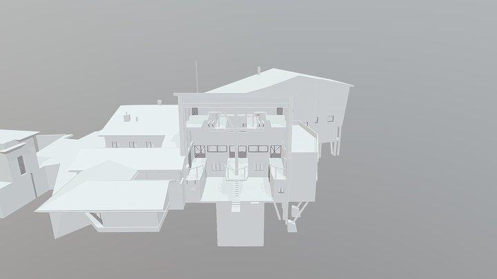 1535 - Ski lift station 3D Model