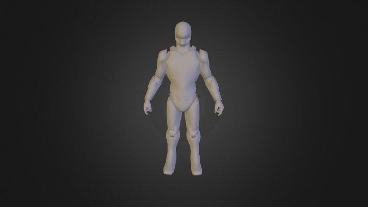 Robo Cop 3D Model
