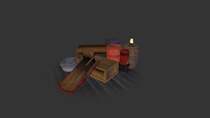 Cabin_Props 3D Model
