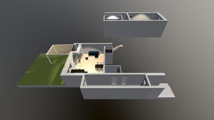 Byt 1NP B 3D Model