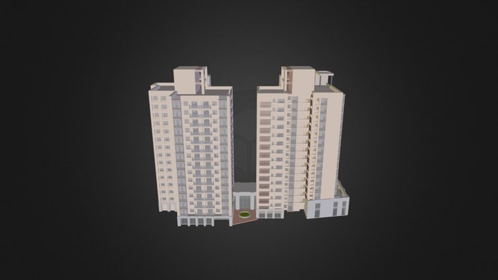 中港 3D Model