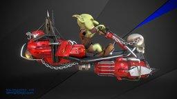 Desert Racer 3D Model