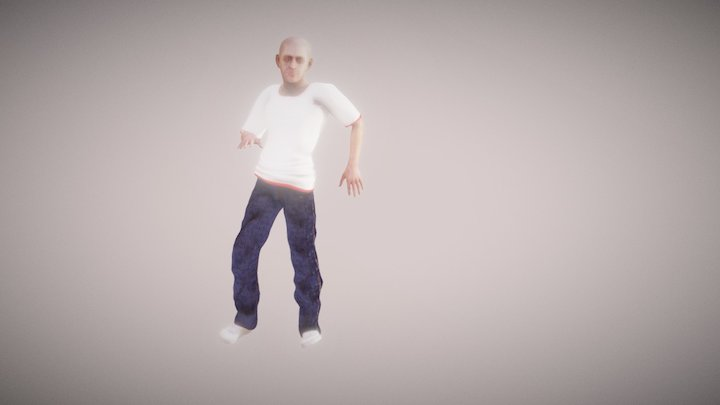 Jay Hall (G3M + Chaterized) Motion 3D Model