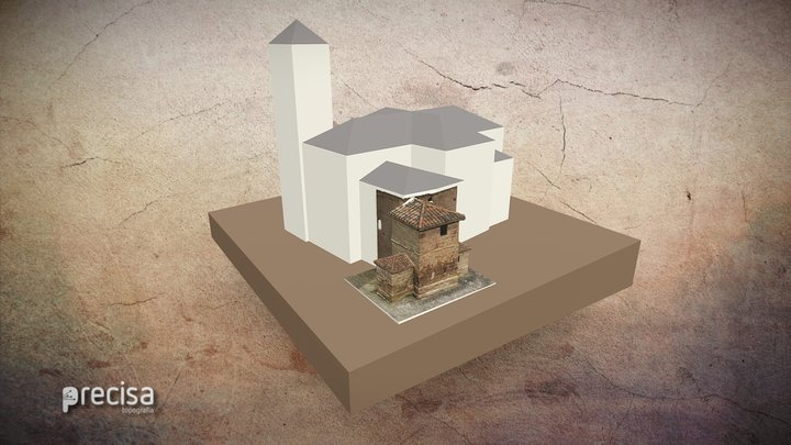 MARTYRIUM SANTA COLOMA 3D Model