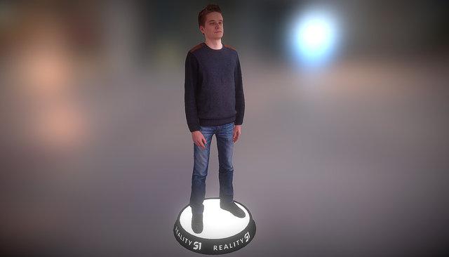 Human Scan 1406 3D Model