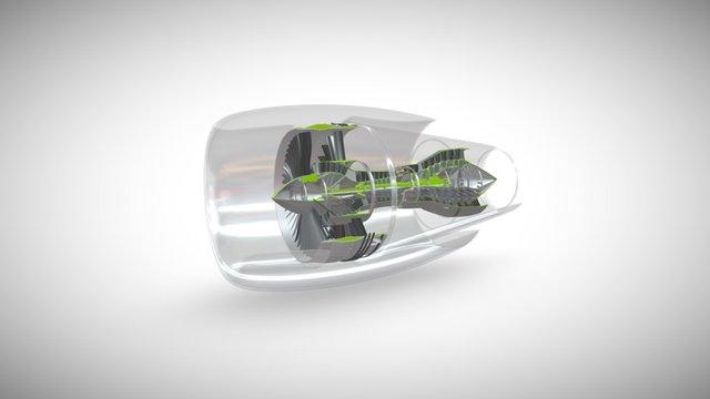 Turbine 3D Model