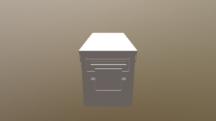 Nicolas_Pina_AmmoBox 3D Model