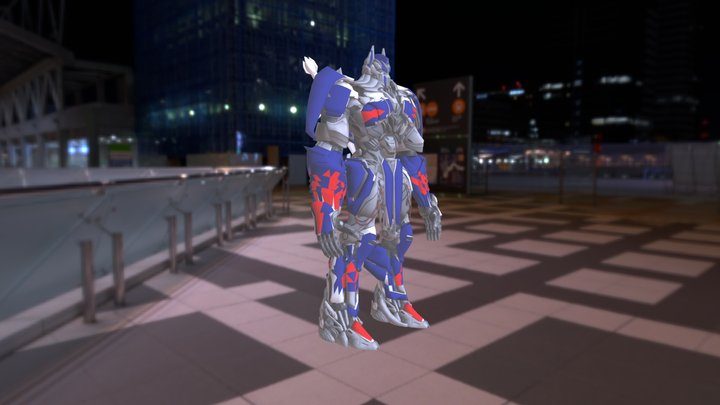 Optimus Prime TLK 2017 3D Model