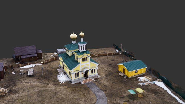 Adrian and Nataly church 3D Model