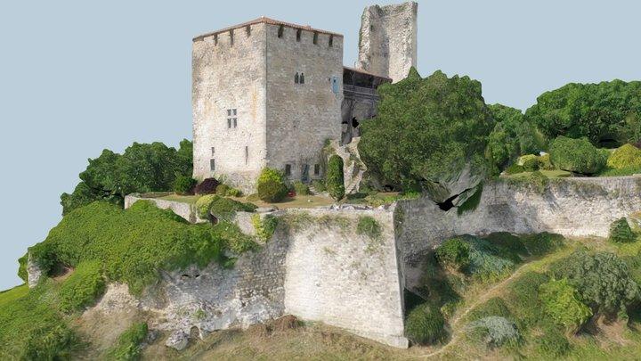 Château de Madaillan 3D Model