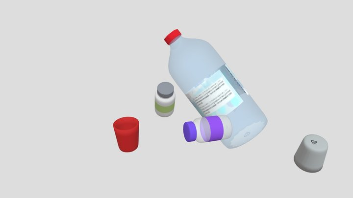 Recycleview2 3D Model