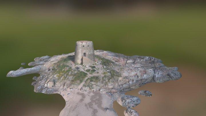 Torre di Bari Sardo II 3D Model