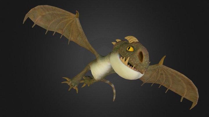 Nadder Dragon 3D Model