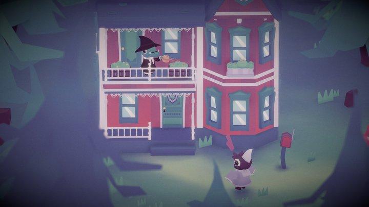 Koko magician's house 3D Model