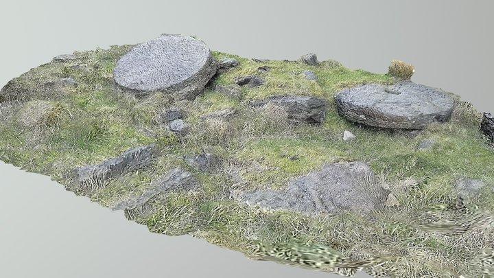 Millstones - Black Coppice Anglezarke 3D Model