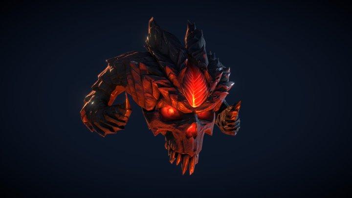 Diablo Skull 3D Model
