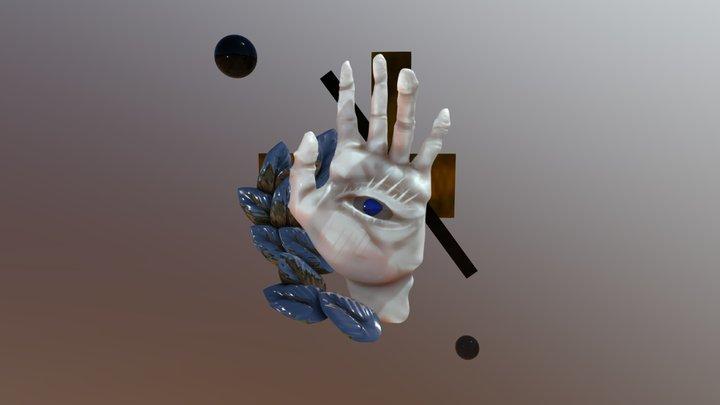 Hold my eye 3D Model