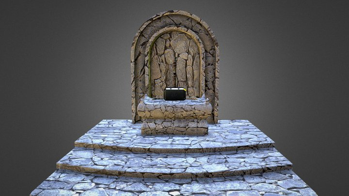 thor temple 3D Model