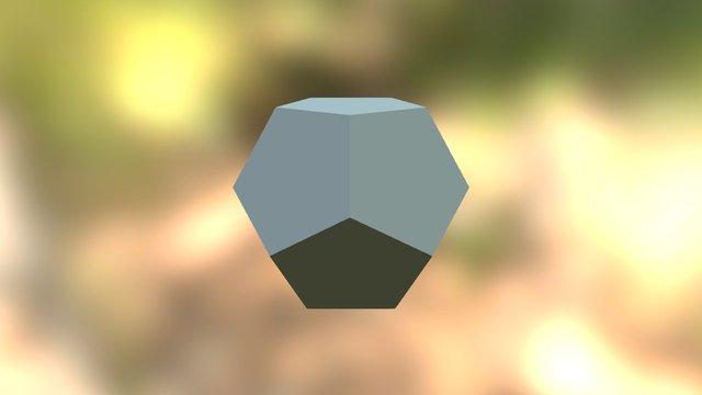 Pentagons 3D Model