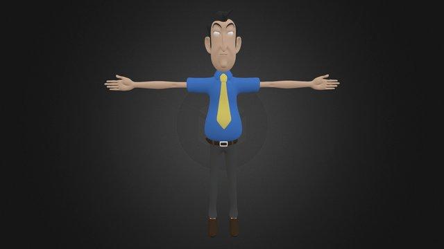 Businessman 3D Model