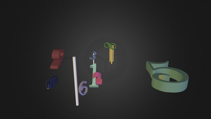 Synaesthesia 3D Model