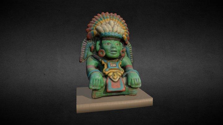 Aztec statuette 3D Model