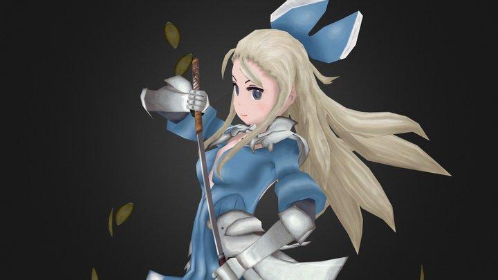Edea Lee - Bravely Second: End Layer 3D Model