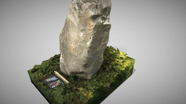 Grey Stone 3D Model