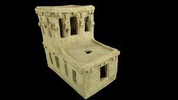 Babylonian Spirit House 3D Model