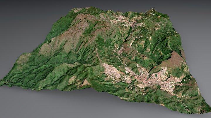 Itacolomi Peak - Ouro Preto / Mariana - Brazil 3D Model