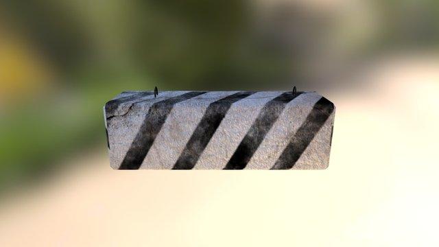 Free Road Blocker1 3D Model