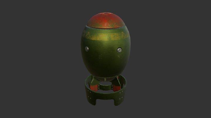 Nuke 3D Model