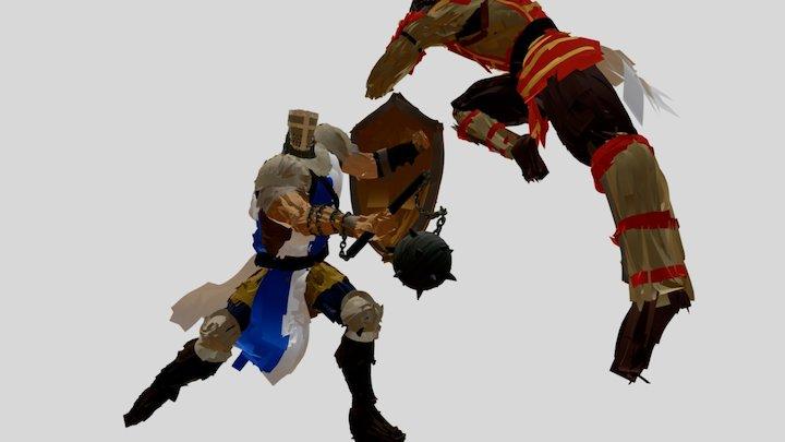 For Honor - KNIGHT vs. SAMURAI! 3D Model