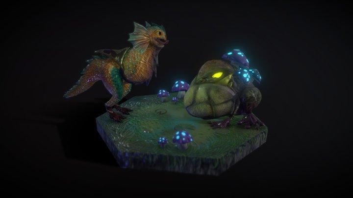Skaarls [3D Model] - League Of Legends Fanart 3D Model